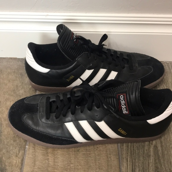 adidas Shoes | Mens Adidas Samba Black